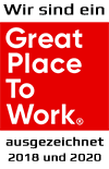 "Wir sein ein ""Great Place To Work"""